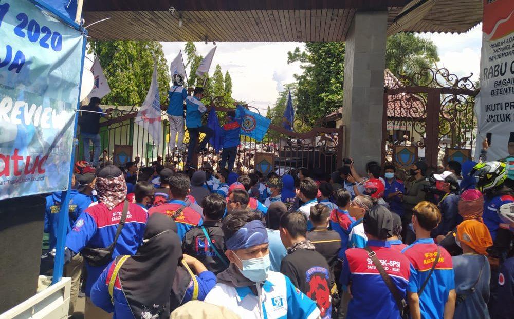Protes UMK Tak Naik, Aksi Buruh Jilid II Digelar Selama 3 Hari Berturut-turut