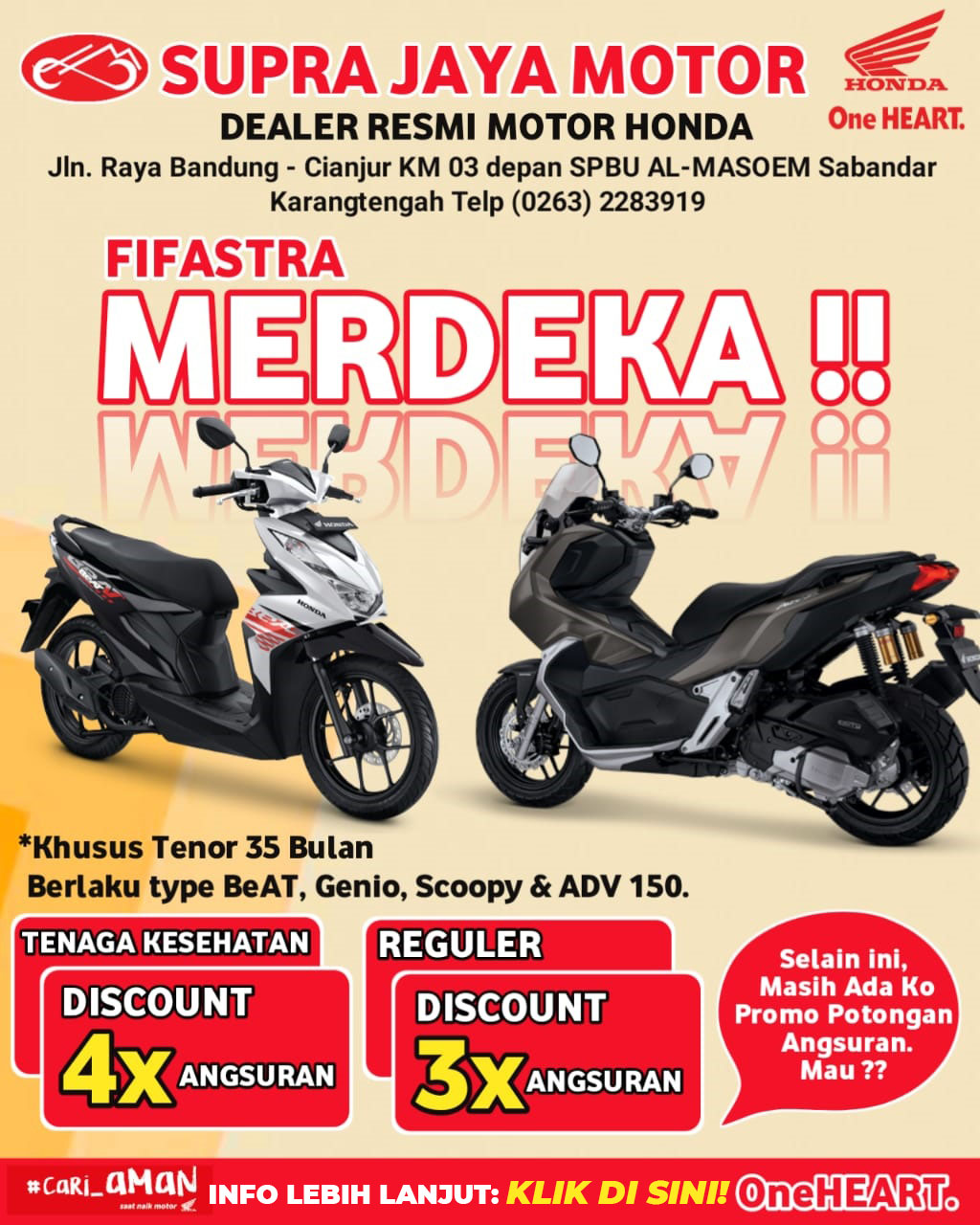 Supra Jaya Motor